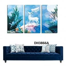 Tranh treo tường nghệ thuật Hươu DH3866A