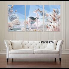 Tranh treo tường nghệ thuật Hươu DH3897A