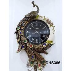 Đồng hồ trang trí điêu khắc phù điêu  DHS366