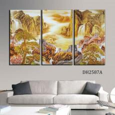 Tranh treo tường 3 bức nghệ thuật DH2587A