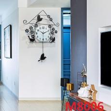 Đồng hồ trang trí chim sẻ M8006