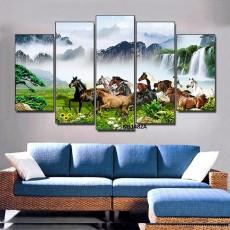 Tranh Canvas, tranh treo tường mã đáo CVS1482