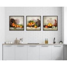 Tranh nhà bếp, tranh phòng ăn, tranh treo tường NT104