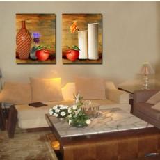 Tranh ghép bộ 2 bức nghệ thuật DH1507A (kích thước 60x60cm)