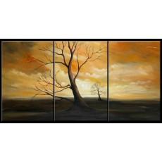 Bộ tranh sơn dầu 3 bức SD164 (kích thước 90x60cm)