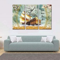 Tranh đồng hồ, tranh treo tường nghệ thuật T26