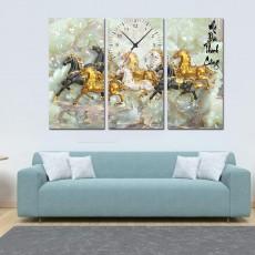 Tranh đồng hồ, tranh treo tường nghệ thuật T27