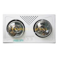 Đèn sưởi nhà tắm 2 bóng Philips PS10-02-RC