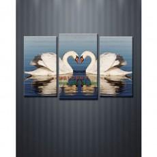Tranh bộ treo tường Thiên Nga DH783A (kích thước 95x60cm)