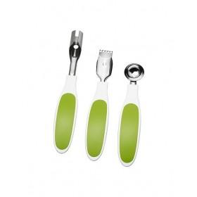 Bộ 3 dụng cụ gọt vỏ, lấy lõi hoa quả IKEA SPRITTA