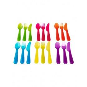 Bộ 18 thìa, dao, dĩa IKEA KALAS