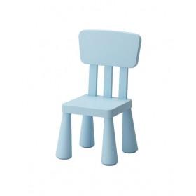 Ghế tựa IKEA MAMMUT màu xanh blue