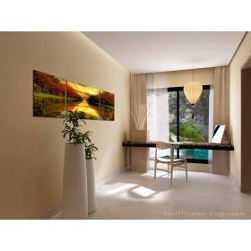 Tranh bộ treo tường 3D phong cảnh DH528A (160x80cm)