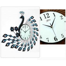 Đồng hồ trang trí hình Chim Công 1405