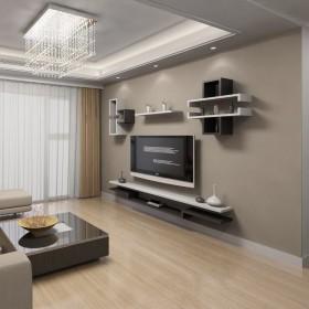 Kệ gỗ trang trí phòng khách KG157
