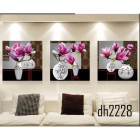 Tranh ghép nghệ thuật hoa Mộc Lan DH2228A