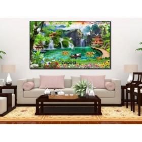 Tranh  Canvas  treo tường phong cảnh CVS2043