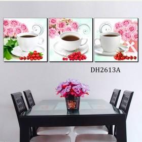 Tranh treo tường 3 bức nghệ thuật DH2613A
