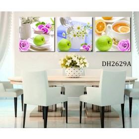 Tranh treo tường 3 bức nghệ thuật DH2629A