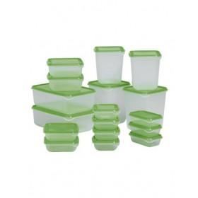 Bộ 17 hộp đựng thức ăn IKEA PRUTA