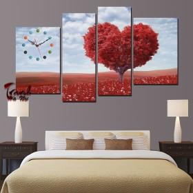 Tranh nghệ thuật cây trái tim DH3416A