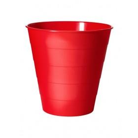 Thùng đựng rác IKEA FNISS màu đỏ (to)