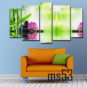 Tranh ghép bộ 5 bức nghệ thuật MS53
