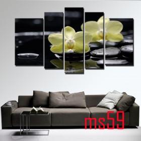 Tranh ghép bộ 5 bức nghệ thuật MS59