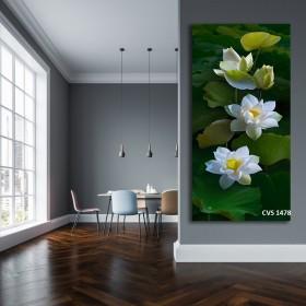 Tranh Canvas, tranh treo tường HOA SEN CVS1478
