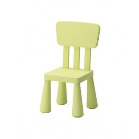 Ghế tựa IKEA MAMMUT màu xanh rêu