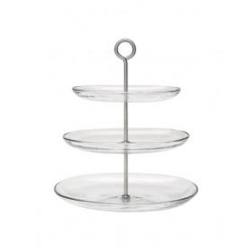 Giá đựng 3 tầng thủy tinh IKEA KVITTERA (rename của 365+)