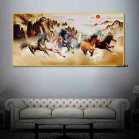 Tranh Canvas treo tường Mã Đáo thành công  CVS881