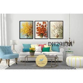 Tranh treo tường nghệ thuật 3 bức DH2983A