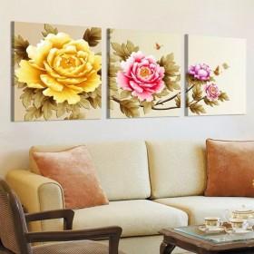 Tranh treo tường 3 bức  nghệ thuật BT060