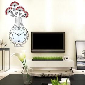 Đồng hồ trang trí bình Hoa S160