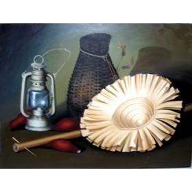 Tranh sơn dầu tĩnh vật SD074 (kích thước 50x70cm)