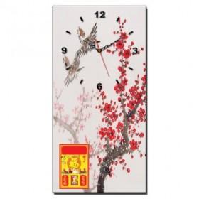 Mẫu tranh lịch đồng hồ TL18