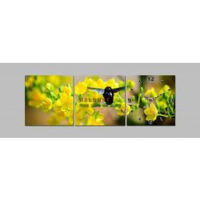 Tranh đồng hồ treo tường DH759A (kích thước 30x90cm)